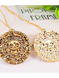 Golden Pendant Necklaces Alloy Daily / Casual Jewelry