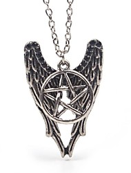 Men's Women's Pendant Necklaces Alloy Star Fashion Screen Color Jewelry Special Occasion Birthday Gift