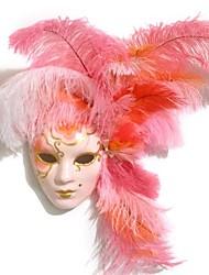 main carnaval plume mascarade masque vénitien de mardi gras