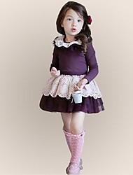 vestido de verano de manga larga vestido de niña vestido de princesa vestido de la muchacha