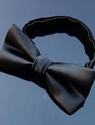 XINCLUBNA®Men's New Pre-tied Purple Solid Color Tribute Silk Adjustable Bowtie 1PC (More Colors)