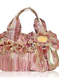 женщины верблюд органзы лук сумки леди ручной работы мешки плеча
