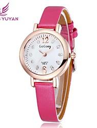 mujeres reloj del Rhinestone 2015 marca la moda señoras del reloj de vestido ocasional de los relojes de pulsera (colores surtidos)