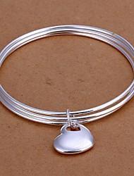 pulsera de plata placa de las mujeres SSMN