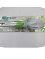 limão dispositivo imprensa suco de plástico 14,5 × 2,2 × 1,8 centímetros (5,7 × 0,9 × 0,7 polegadas)