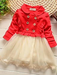 hilado mezclado vestido de princesa neto de chica