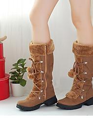 Loubo Women's Fashion Casual Chain Warm Boots