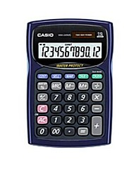 Casio Water-Protected and Dust -Proof Mini Desk Type  12 Digits Calculator Random Color  WM-220MS