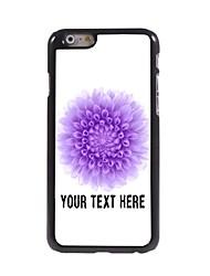caso de telefone personalizado - caso mini flower design de metal para o iPhone 6