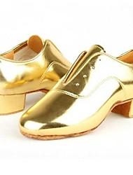 Latin Kids' Heels Cuban Heel Lace-ups Dance Shoes(More Colors)