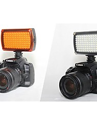 hy96 led luce video 9W 850lm 5600K / 3200K regolabili per luce video fotocamera DSLR (batterie non incluse)