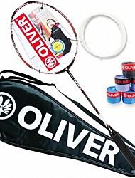 profissional de fibra de carbono vermelho para o jogo de raquetes de badminton K5