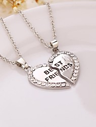 Necklace Pendant Necklaces Jewelry Daily Casual Sports Fashion Initial Jewelry Alloy Women 1pc Gift Silver