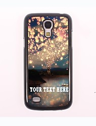 Personalized Phone Case - Romance Design Metal Case for Samsung Galaxy S4