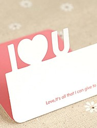 Love You Mini Valentine Cards (7.5*7.5cm)