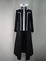 Inspired by Sword Art Online Kirito Anime Cosplay Costumes Cosplay Suits Patchwork Black Long Sleeve Coat / Pants / Gloves