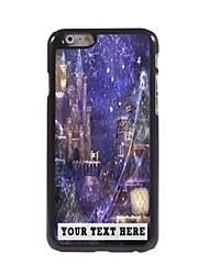 Personalized Phone Case - Castle Design Metal Case for iPhone 6