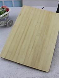 tábua de cortar bambu, bambu 26 × 36 × 2 cm (10,3 × 14,2 × 0,8 polegadas)