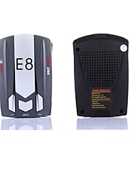 e8 360 degrés détecteur de radar de voiture avec l'anglais / russe voix super anti radar multibande