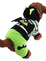 hot moda legal batman virou instalado para cães de estimação (tamanho assorted)