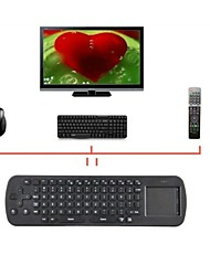 mini touchpad volano tastiera wireless RC12 2.4ghz mouse dell'aria per Google Mini PC BOX tv palyer android