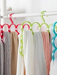Northern wind circle scarf rack with multiple racks towel scarf tie rack mounted three