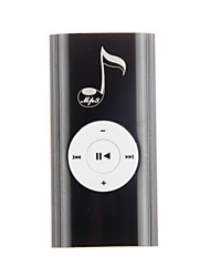Notes Portable with Clip The Speaker TF Card Reader MP3 Music Player