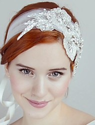 Women's Rhinestone/Tulle Headpiece - Wedding/Special Occasion Headbands