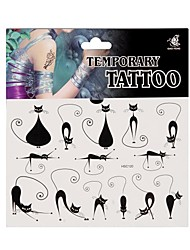 Fashional Temporary Tattoo Body Art Waterproof Stickers Safe Removable Multi Style