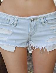 Women's Blue Denim Pant , Sexy/Beach/Casual