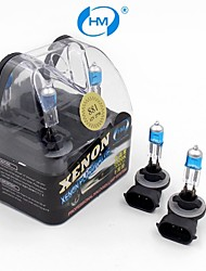 HM® Xenon Plasma 881 12V 27W Halogen Lamp Headlight White Light Bulbs (a Pair)