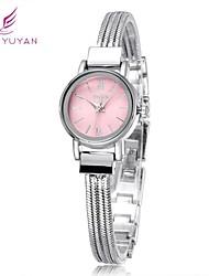 mujeres pulsera relojes de pulsera dulces marca vestido de moda reloj de cuarzo ocasional de lujo negro (colores surtidos)