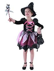 chat noir costume sorcière enfants de carnaval