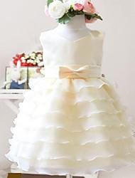 Girl's Chiffon/Others Dress , All Seasons Sleeveless