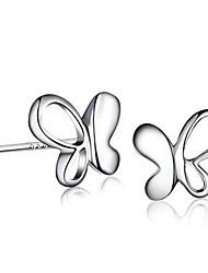 Boucles d'oreille goujon Bijoux Femme Argent sterling 2pcs Argent