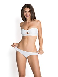 Women's RELLECIGA 2015  Latest Jacquard Fabric Bandeau Top Bikini