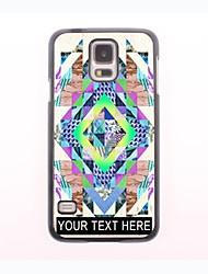 personalisierte-Tasche - Retro-Design Metallgehäuse für Samsung-Galaxie s5 Mini