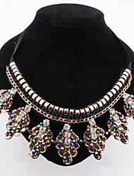 Colorful day  Women's European and American fashion necklace-0526056