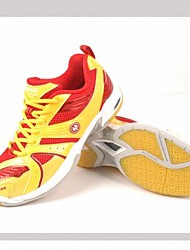 Red+Golden Professional for Game Badminton Shoes