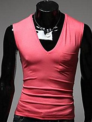 Men's V Neck Fashion Vests