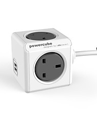 1.5m usb allocacoc PowerCube prorrogado uk versão 7400