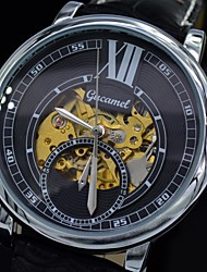 Men's Watch Automatic Mechanical Skull Skeleton Dress Watches Fashion Leather Sport Wrist Watch