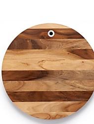 """tavola di legno rotondo taglio quercia 11.8 """"11.8"""""""
