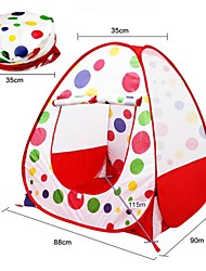 2 persons Tent Double Automatic Tent One Room Camping Tent Oxford Quick Dry Well-ventilated-Camping Beach Traveling-Red