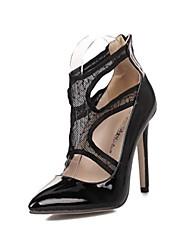 Women's Shoes Pointed Toe Stiletto Heel Pumps with Zipper Shoes