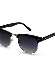 100% de las gafas de sol UV400 browline plástico