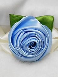 mariage élégant de rose / partie corsage poignet
