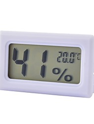 Mini Digital Temperature and Humidity Meter wit LCD Display, High Precision Thermometer,2*LR44 Button Cell