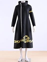 одна часть костюма Трафальгарской закон пальто косплей