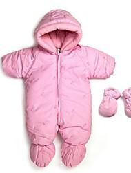 enfants Romper justaucorps à manches longues Girl`s 0-1 barboteuse body bébé combinaison d'hiver